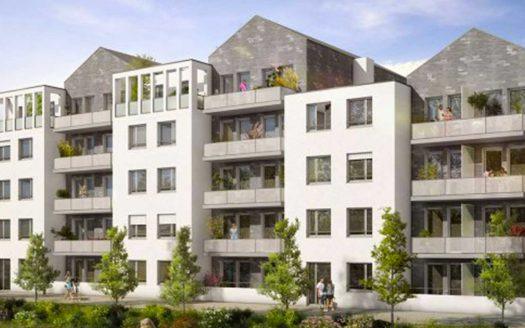 Programme pinel à Toulouse, façade exterieure de la Résidence l'Estampe