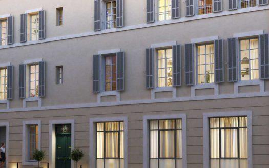Programme Malraux à Aix en Provence, façade extérieure de la Résidence les Hauts de Mirabeau