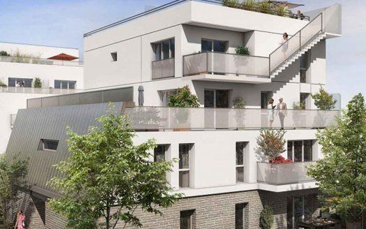 Programme neuf à Bezons, façade de la résidence Amplitude