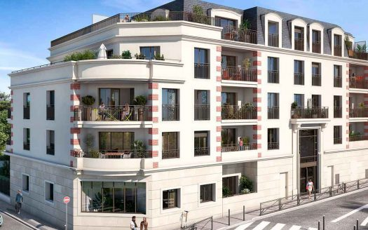 Programme neuf à Champigny, façade de la résidence Florilège
