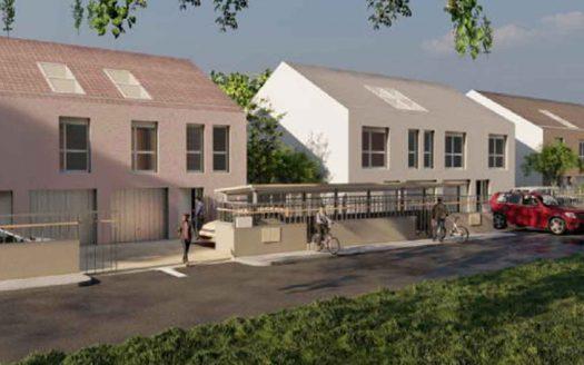 Programme neuf à Montigny Le Bretonneux, façade de la résidence Le Manet