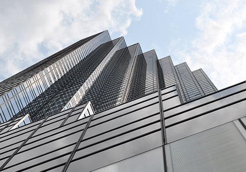 Immeuble moderne d'une Société civile de placement immmobilier